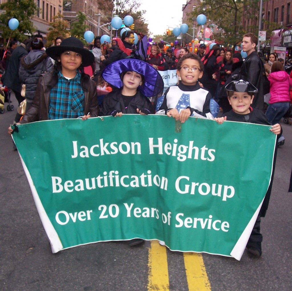 JHBG Parade Banner with kids