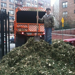 JHSCRAPS and Friends of Travers Park celebrated Mulchfest