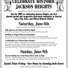 Celebrate Historic Jackson Heights 2013