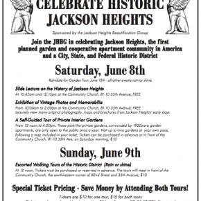 Celebrate Historic Jackson Heights 2013