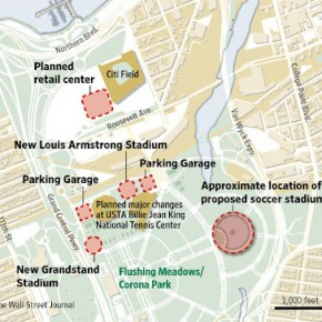 Land grab in Queens park