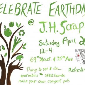 Celebrate Earth Day on Saturday, April 20