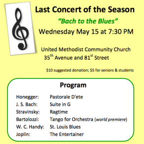 Jackson Heights Orchestra: last concert of the season
