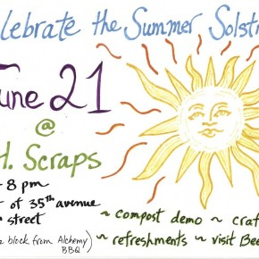 JH SCRAPS Summer Solstice Event