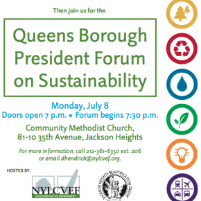 Queens Borough President Forum on Sustainability