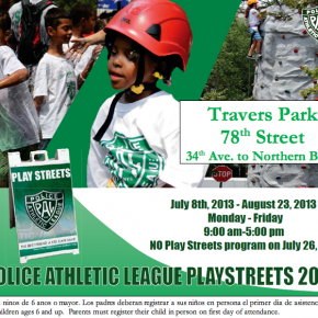 Police Athletic League at Playstreets 2013