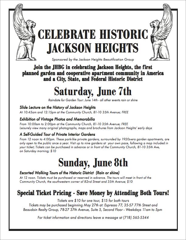2014 Historic Weekend Flyer