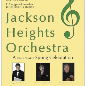 Jackson Heights Orchestra: A (Much Needed) Spring Celebration