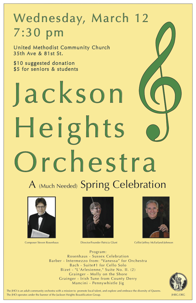 Jackson Heights Orchestra - Spring 2014