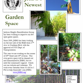 Fall 2014 Gardening Schedule-10/25/14   Saturday– From 37Th  to 34th Ave. and 69th St. – clean out