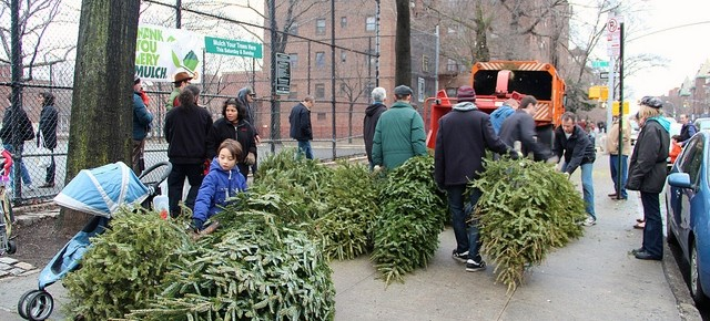 Treecycle & Mulchfest on Saturday and Sunday