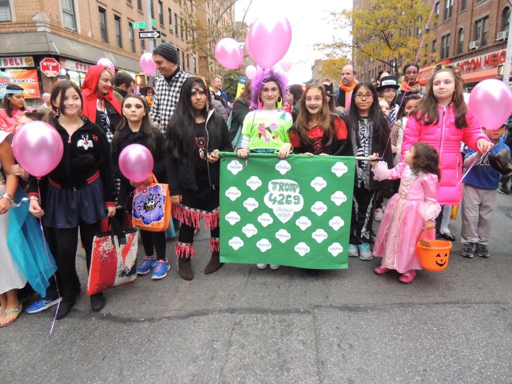 Girl Scout Troop 4208 & Brownie Troop 4269Community Board Q3PS 212