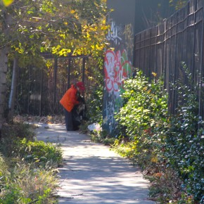 Cleaning and greening 69th Street between 37th Avenue and Northern