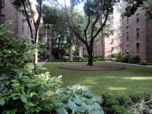The Towers Garden, Jackson Heights